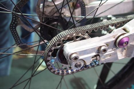 Carbon belt drives - Eurobike 2013