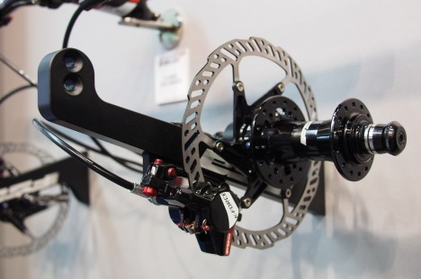 FSA K-Force Hydraulic Disc Brakes - Eurobike 2013