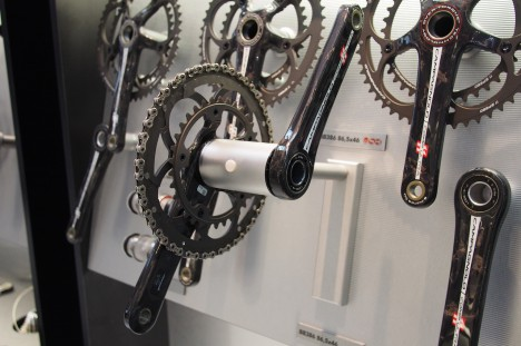 Campagnolo Over-Torque Cranksets - Eurobike 2013