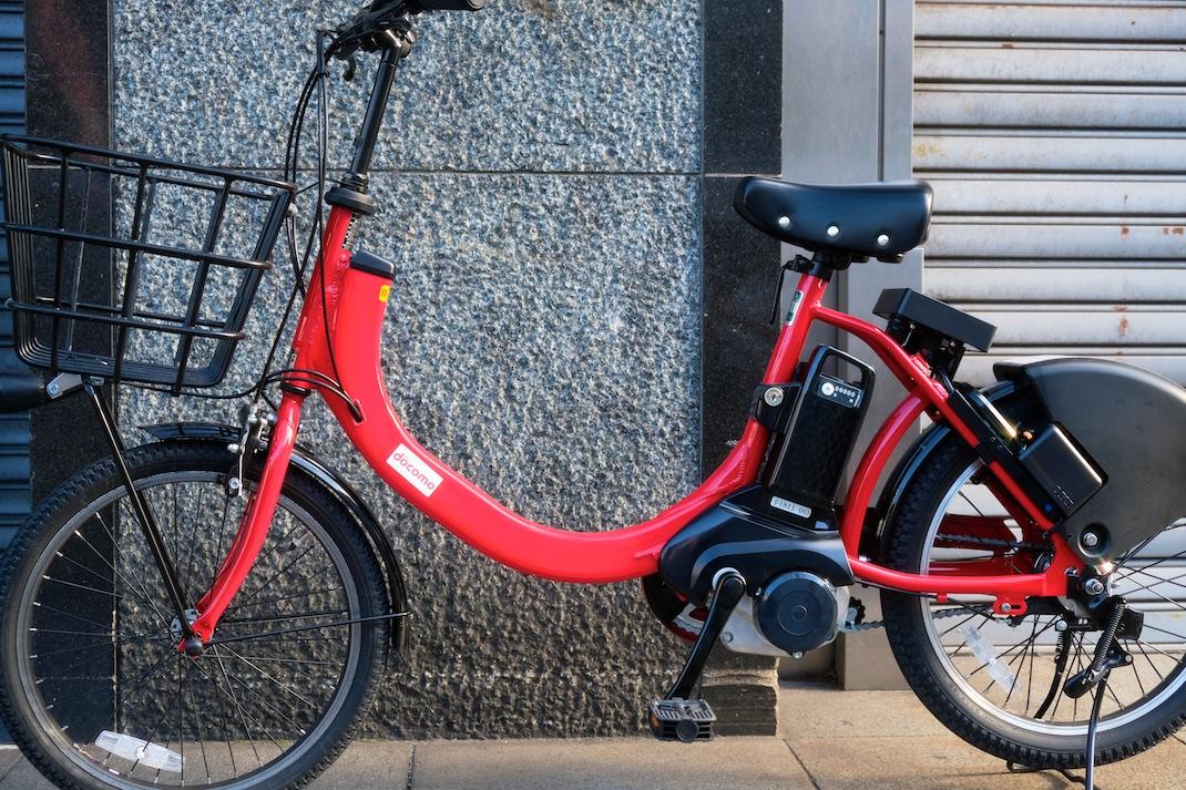 ドコモのシェア自転車