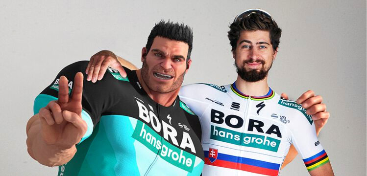 Ion Göttlich with Peter Sagan