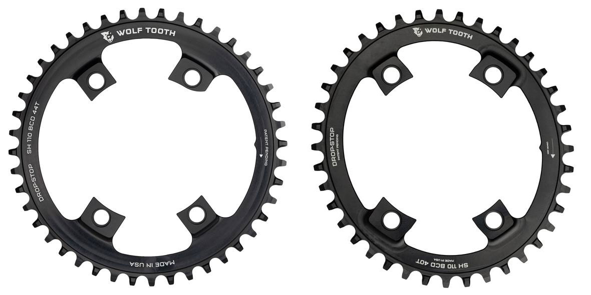 110 BCD Asymmetric 4-Bolt for Shimano Cranks