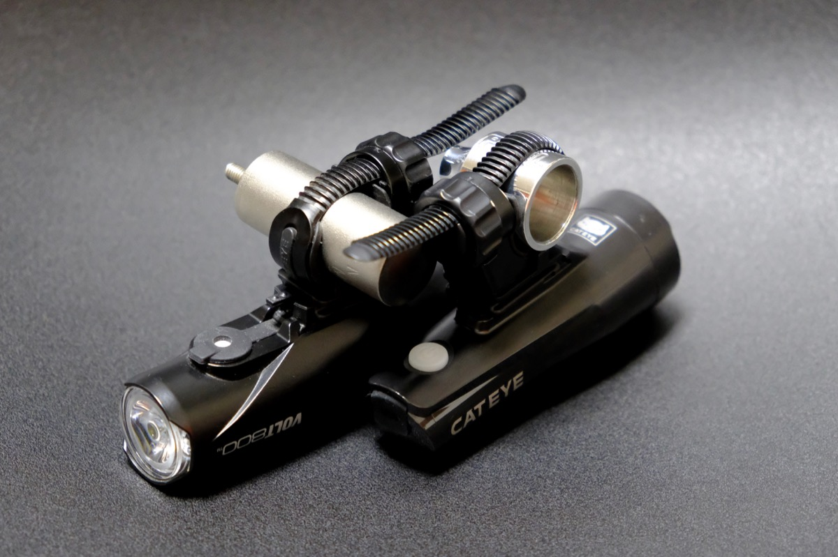 Paul Component Gino Light Mount and Nitto Lamp Holder