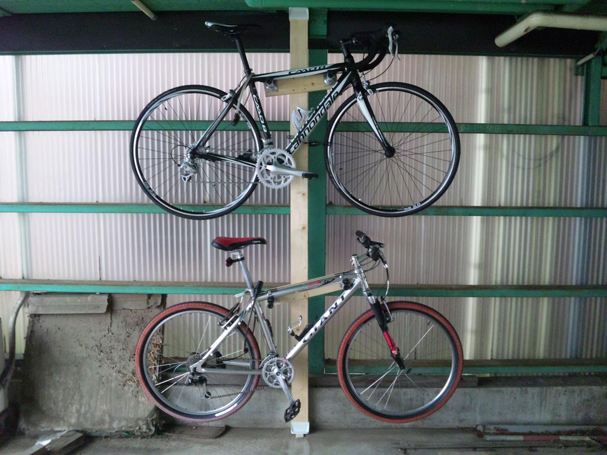 Cannondale CAAD8とGIANT ATX-870