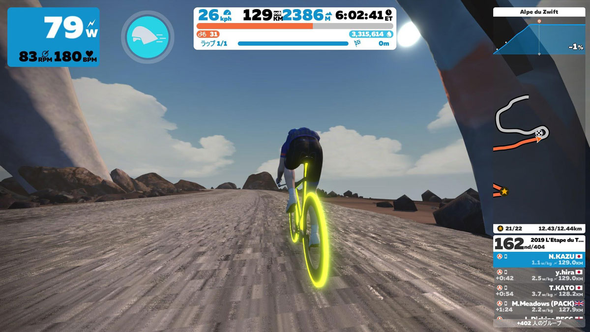 THE ESSES〜ALPE DU ZWIFT