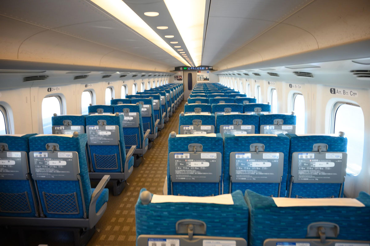 新幹線指定席