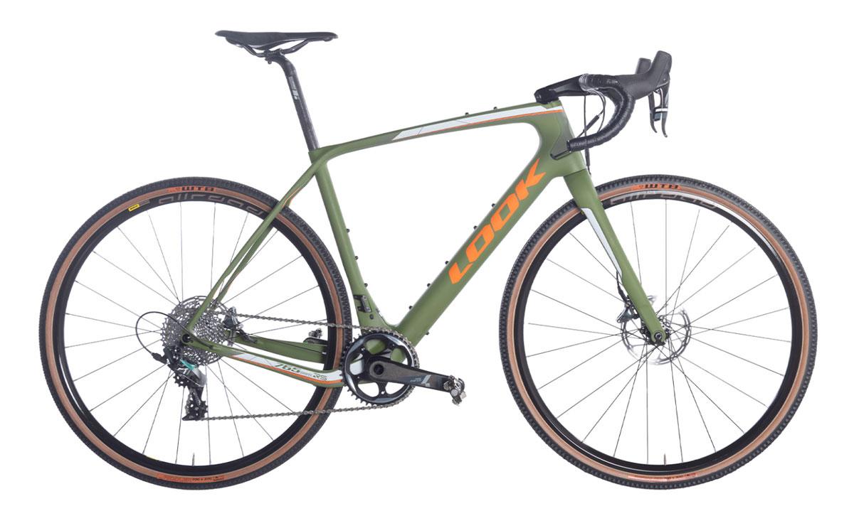 Look 765 RS Gravel Green Mat