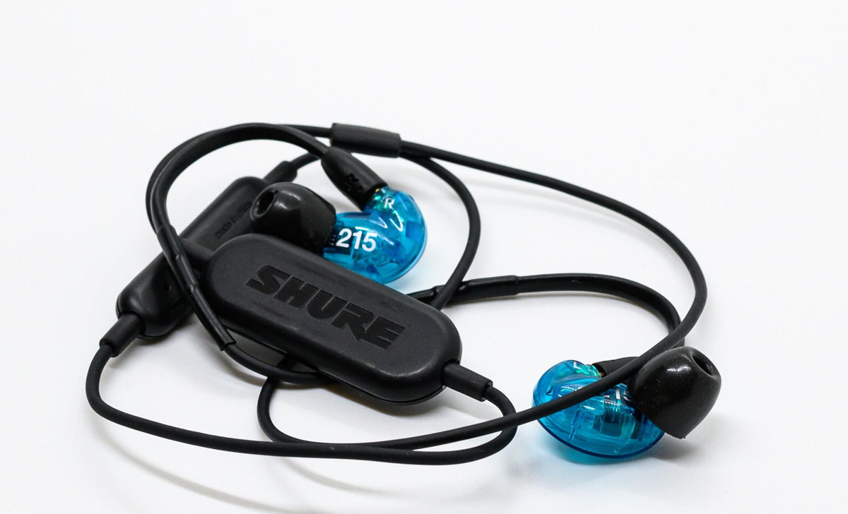 SHURE SE215 Special Edition(Bluetoothイヤホン)