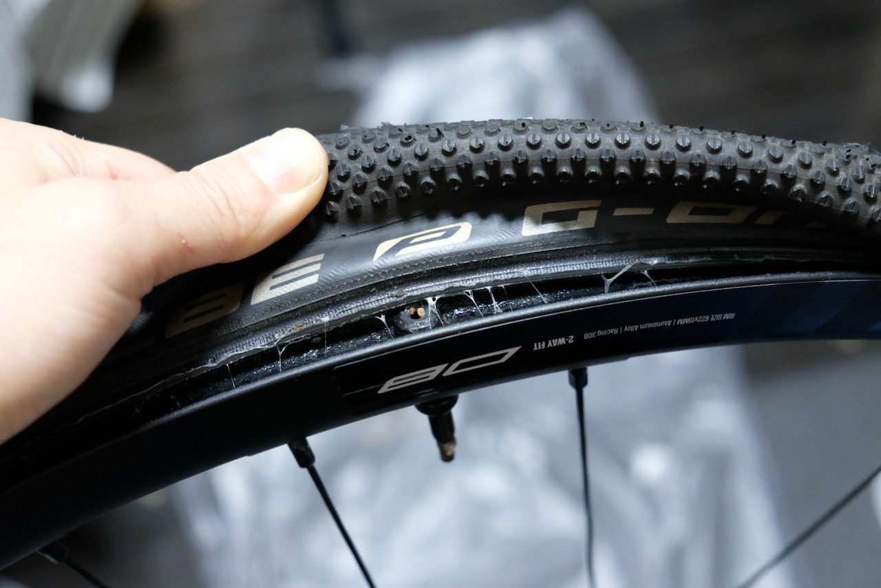 Schwalbe G-One All Round and Fulcrum Racing 3 DB