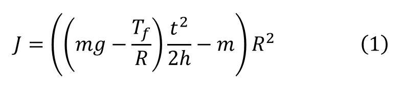 慣性モーメント計算式の導出