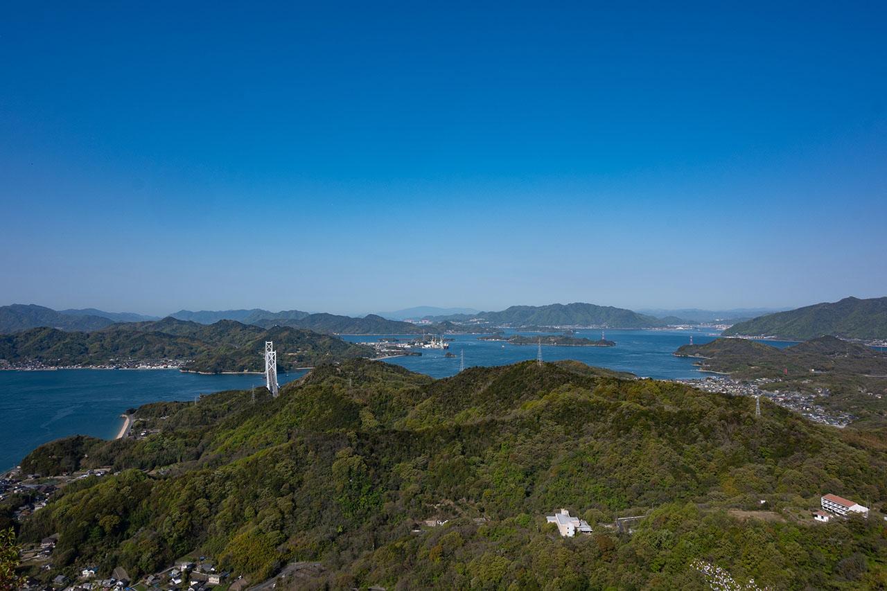 高見山展望台/向島
