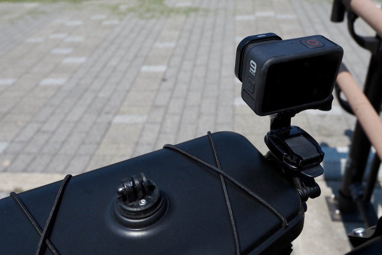 KOM Cycling Top Mount Compatible with GoPro Adapters